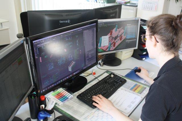 Konstruktion VISI CAD